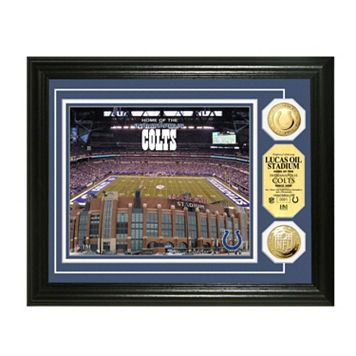 Highland Mint Indianapolis Colts Gold Flashed Coin Photo Mint