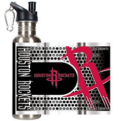 Houston Rockets Stainless Steel Water Bottle With Wrap