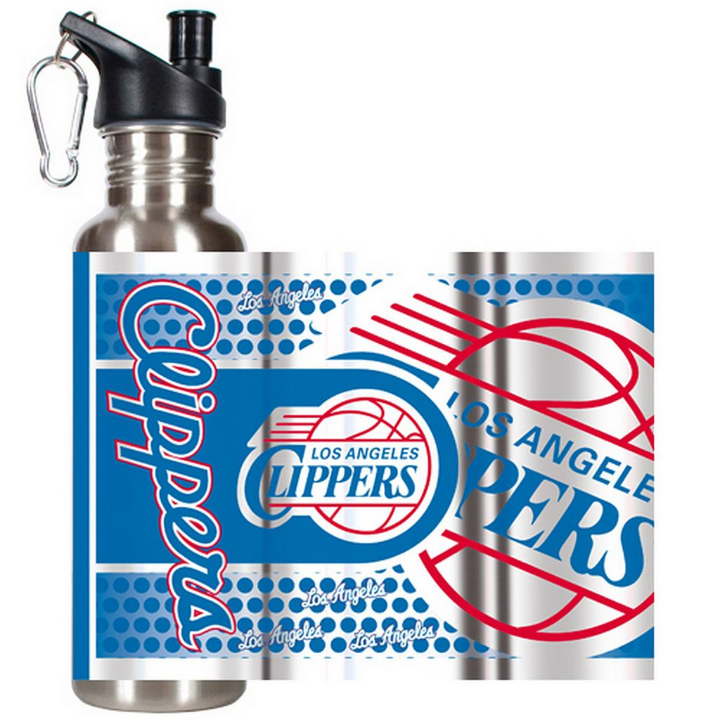 Los Angeles Clippers Stainless Steel Water Bottle With Wrap