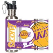 Los Angeles Lakers Stainless Steel Water Bottle With Wrap
