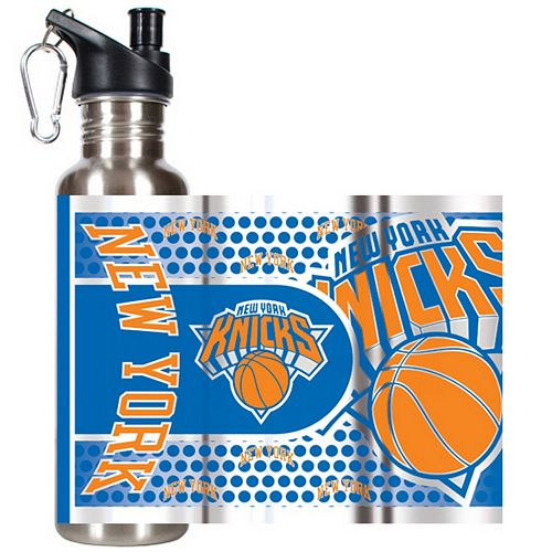 New York Knicks Stainless Steel Water Bottle With Wrap