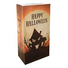 LumaBase 24-pk. 'Happy Halloween' Luminaria Bags