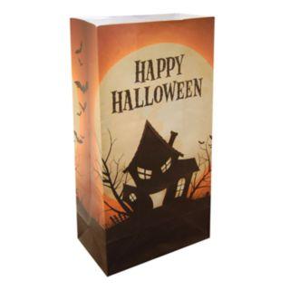 LumaBase 24-pk. Happy Halloween Luminaria Bags