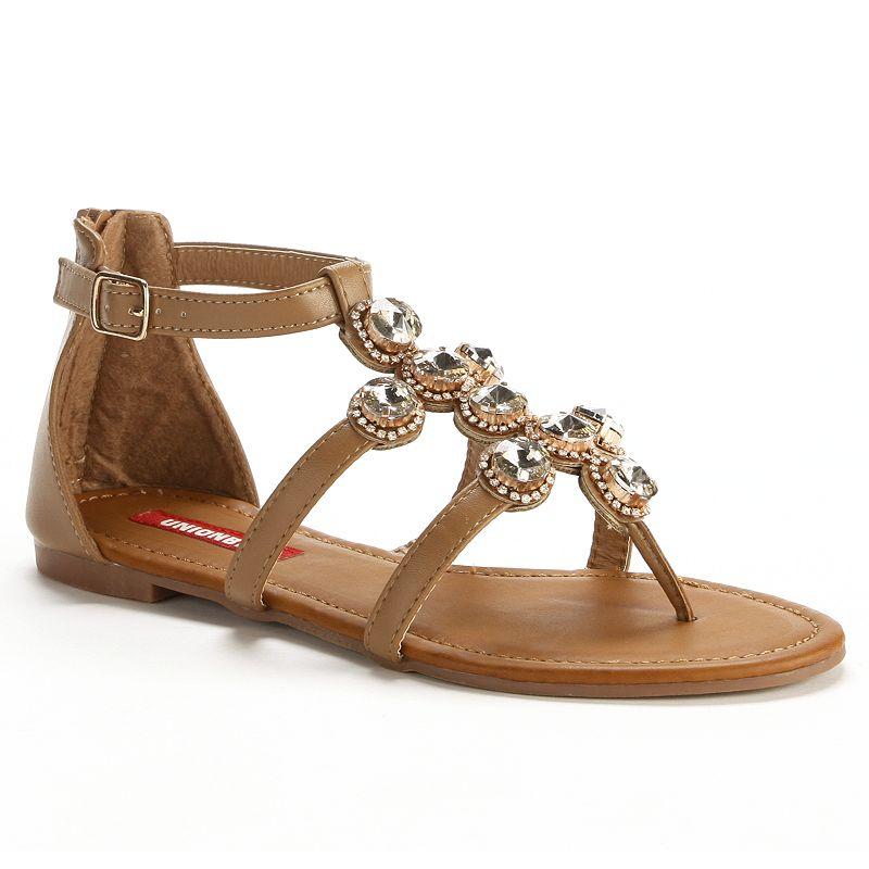 Unionbay Embellished Gladiator Sandals - Women