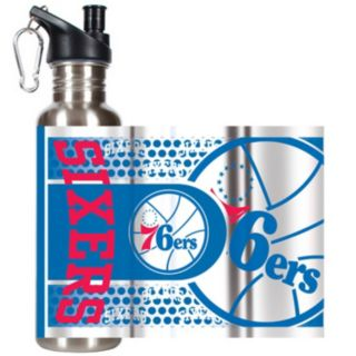 Philadelphia 76ers Stainless Steel Water Bottle With Wrap