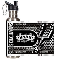 San Antonio Spurs Stainless Steel Water Bottle With Wrap