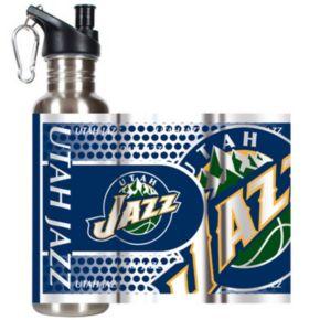 Utah Jazz Stainless Steel Water Bottle With Wrap