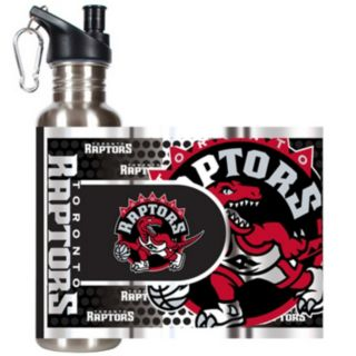 Toronto Raptors Stainless Steel Water Bottle With Wrap