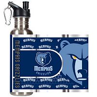 Memphis Grizzlies Stainless Steel Water Bottle With Wrap