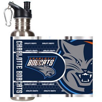 Charlotte Bobcats Stainless Steel Water Bottle With Wrap