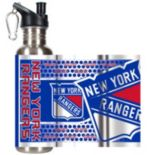 New York Rangers Stainless Steel Water Bottle With Wrap