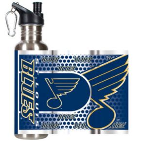 St. Louis Blues Stainless Steel Water Bottle With Wrap