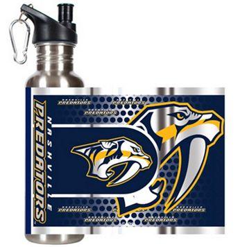 Nashville Predators Stainless Steel Water Bottle With Wrap