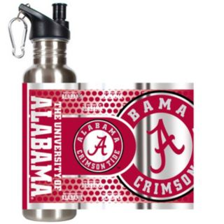 Alabama Crimson Tide Stainless Steel Water Bottle With Wrap