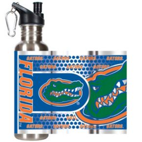 Florida Gators Stainless Steel Water Bottle With Wrap