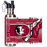 Florida State Seminoles Stainless Steel Water Bottle With Wrap