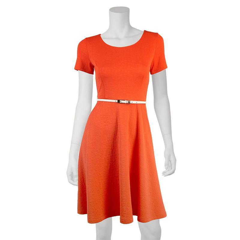ab studio textured ponte dress women 39 s