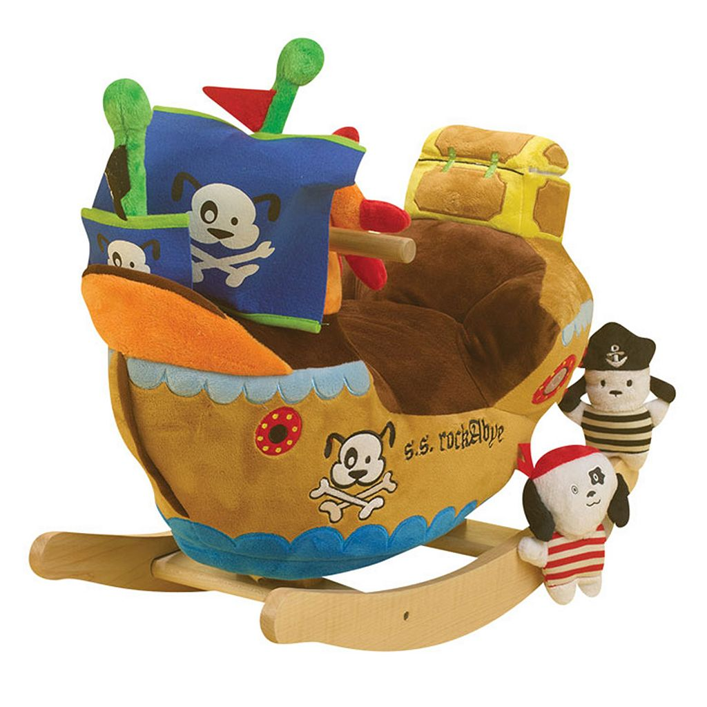 Charm Company Pirate Ship Rocker