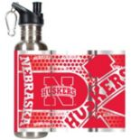 Nebraska Cornhuskers Stainless Steel Water Bottle With Wrap