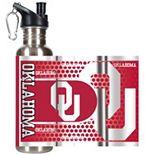 Oklahoma Sooners Stainless Steel Water Bottle With Wrap