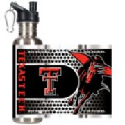 Texas Tech Red Raiders Stainless Steel Water Bottle With Wrap
