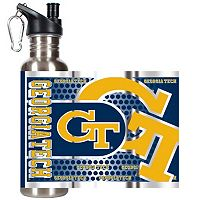 Georgia Tech Yellow Jackets Stainless Steel Water Bottle With Wrap