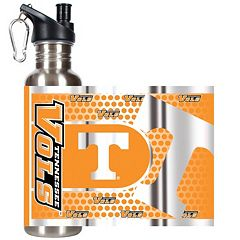 Tennessee Volunteers Stainless Steel Water Bottle With Wrap