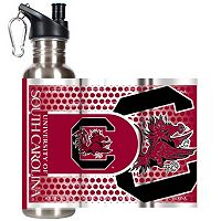 South Carolina Gamecocks Stainless Steel Water Bottle With Wrap