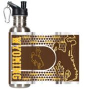 Wyoming Cowboys Stainless Steel Water Bottle With Wrap