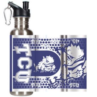 TCU Horned Frogs Stainless Steel Water Bottle With Wrap