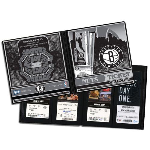 Brooklyn Nets Ticket Album