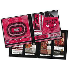Chicago Bulls Ticket Album