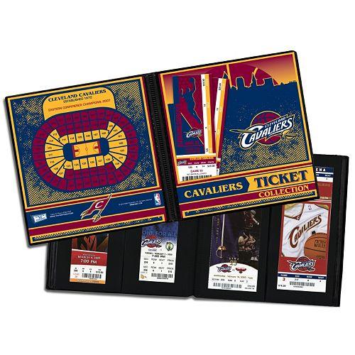 Cleveland Cavaliers Ticket Album