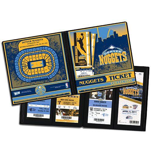 Denver Nuggets Ticket Album