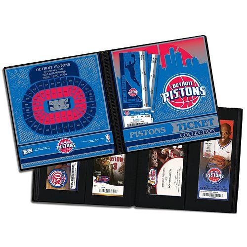 Detroit Pistons Ticket Album