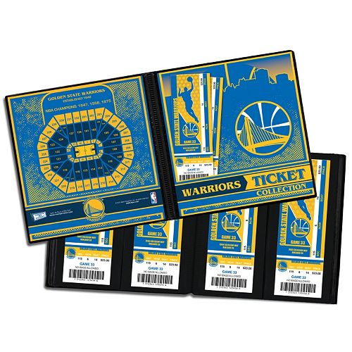 Golden State Warriors Ticket Album