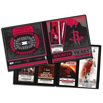 Houston Rockets Ticket Album