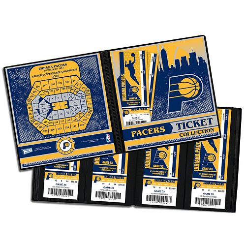 Indiana Pacers Ticket Album