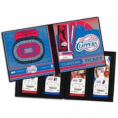 Los Angeles Clippers Ticket Album