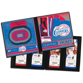 Los Angeles Clippers Ticket Album