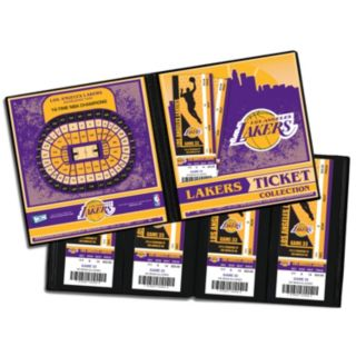 Los Angeles Lakers Ticket Album