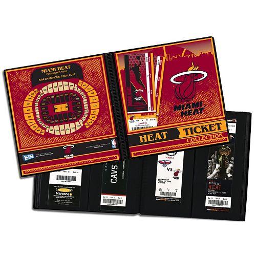 Miami Heat Ticket Album