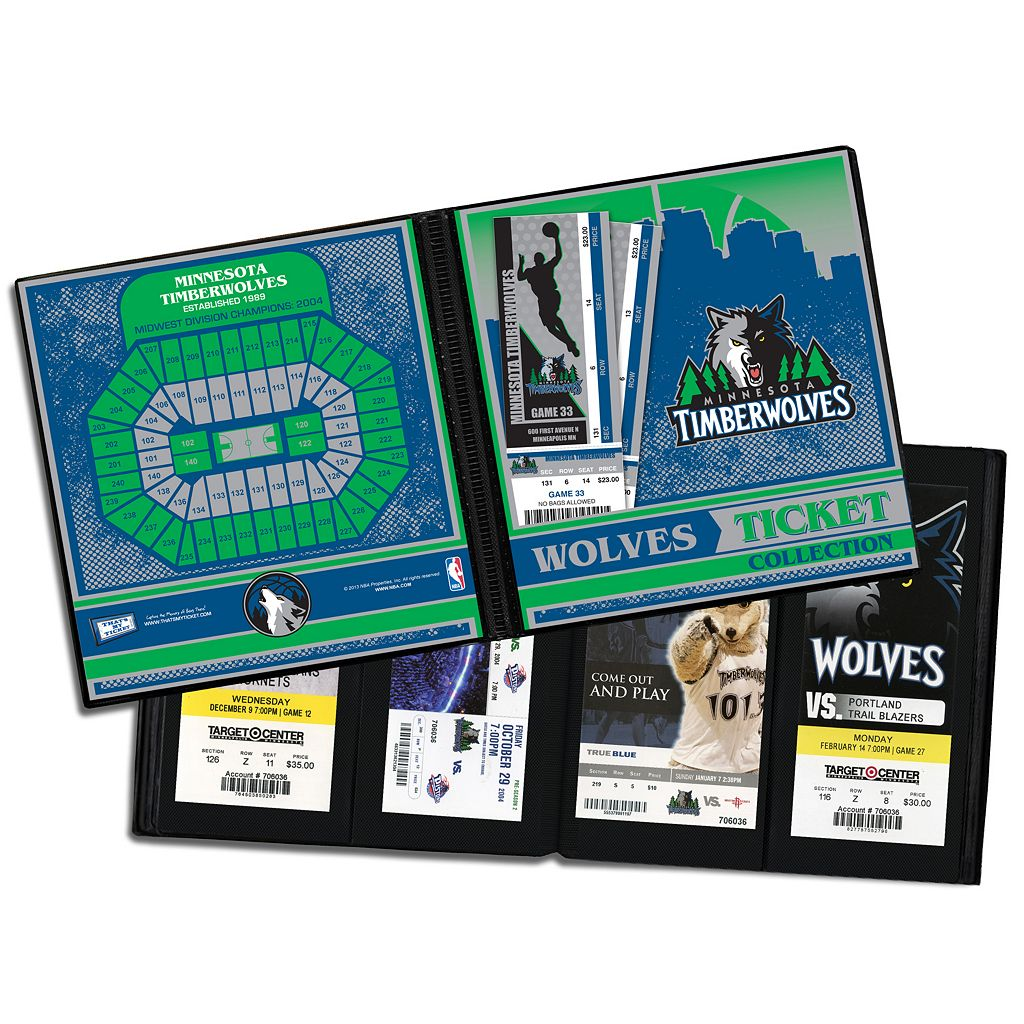 Minnesota Timberwolves Ticket Album