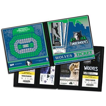 Minnesota Timberwolves Ticket Album