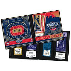 New Orleans Pelicans Ticket Album