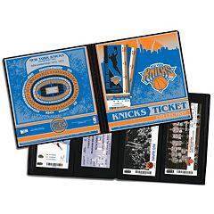 New York Knicks Ticket Album