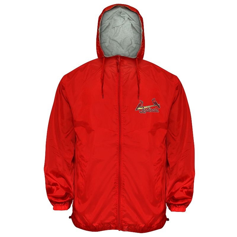 St. Louis Cardinals Hooded Wind Jacket - Big and Tall