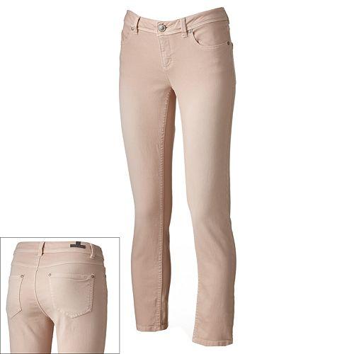 LC Lauren Conrad Color Skinny Ankle Jeans - Women's
