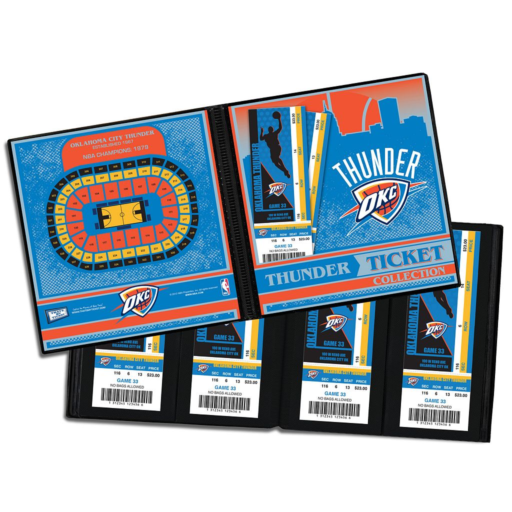 Oklahoma City Thunder Ticket Album