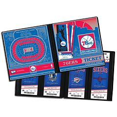 Philadelphia 76ers Ticket Album
